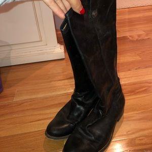 Black Frye Riding Boots